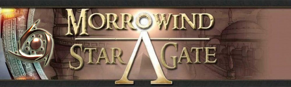 Mod Morrowind Stargate pour les Elder Scrolls sur Rochmedia